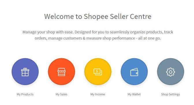Shopee Seller Centre